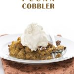 Low Carb Grain-Free Pumpkin Pecan Cobbler