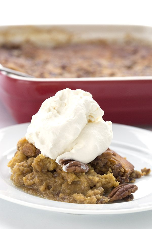 Easy low carb pumpkin cobbler recipe