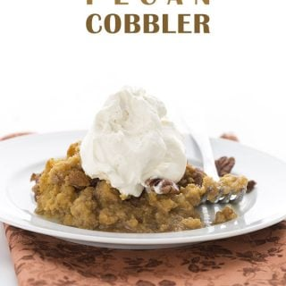 Pumpkin Pecan Cobbler – Low Carb