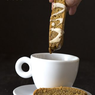 Low Carb Pumpkin Spice Biscotti Recipe
