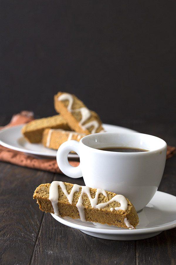 Keto Pumpkin Spice Biscotti. Sugar-free and Grain-free