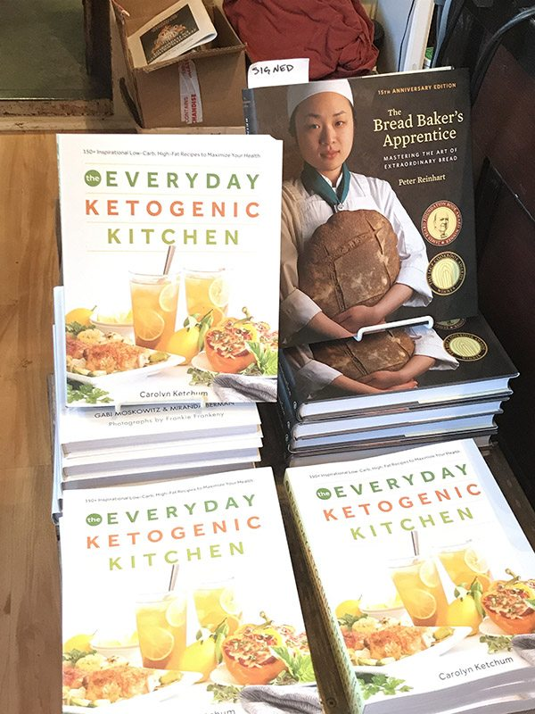 The Everyday Ketogenic Kitchen at Omnivore Books in San Fracisco