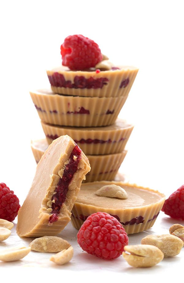 Peanut Butter & Jam Fat Bombs!