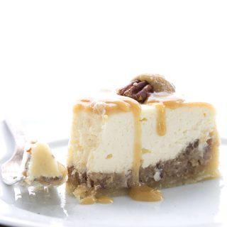 Creamy dreamy Instant Pot Pecan Pie Cheesecake