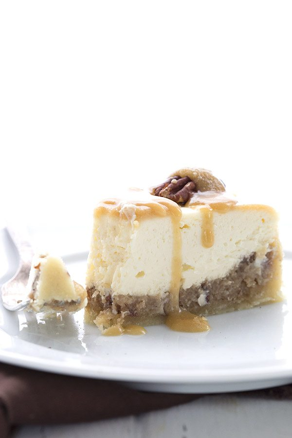 Creamy dreamy Instant Pot Pecan Pie Cheesecake