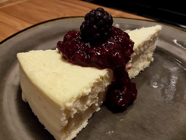 Keto Classic New York Cheesecake