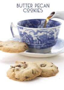 Easy Low Carb Butter Pecan Cookies
