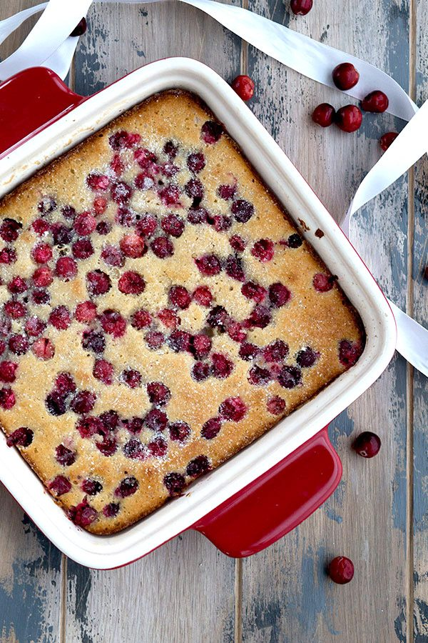 Low Carb Keto Cranberry Cake Recipe