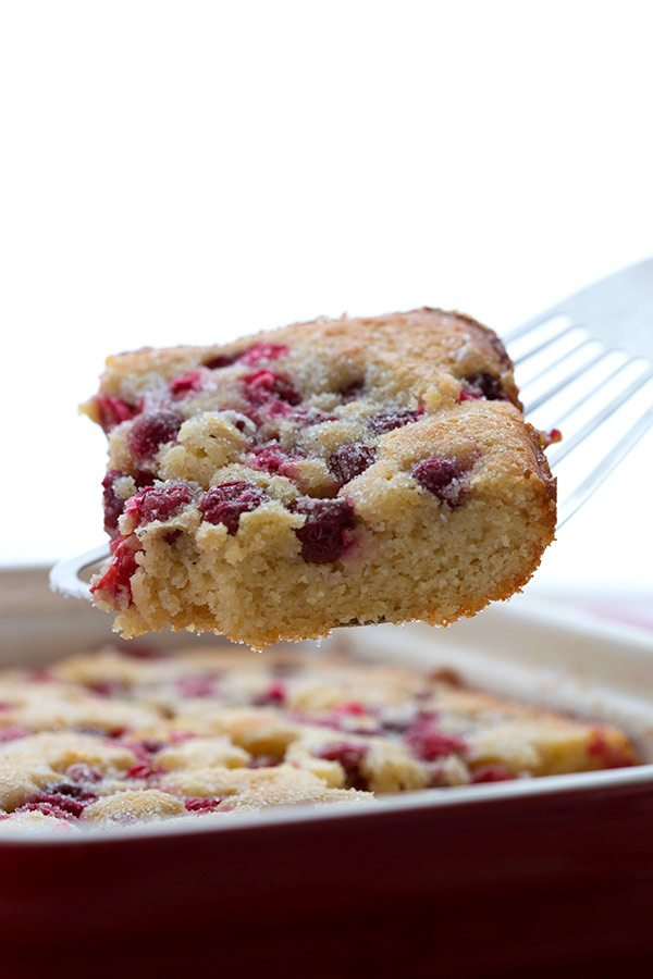 Easy low carb Cranberry Cobbler #sugarfree