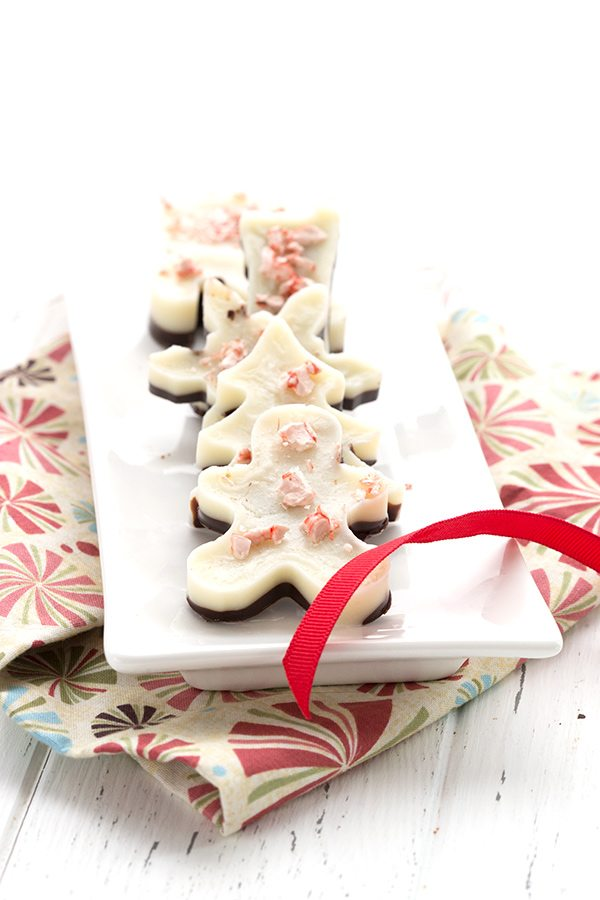 Dairy-Free Sugar-Free Peppermint Bark