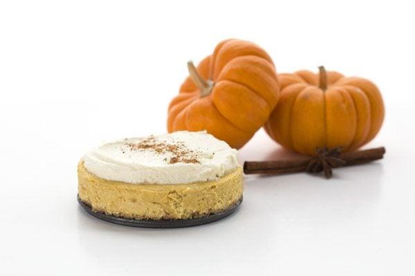Keto Pumpkin Cheesecake for Two
