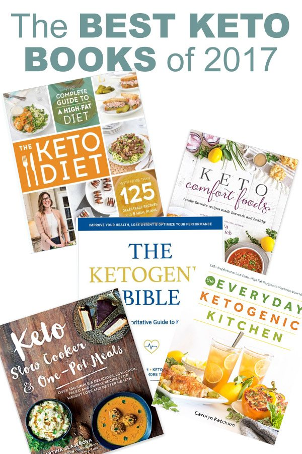 Best Keto Books of 2017
