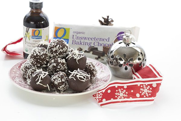 Easy Low Carb Rum Balls