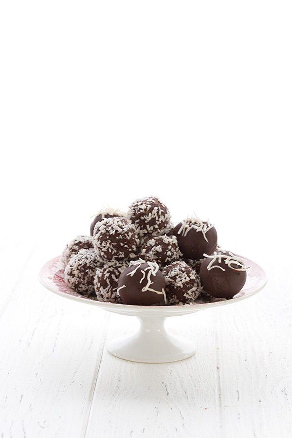 Keto Dairy-Free Coconut Rum Truffles