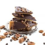 Healthy Cracker Toffee