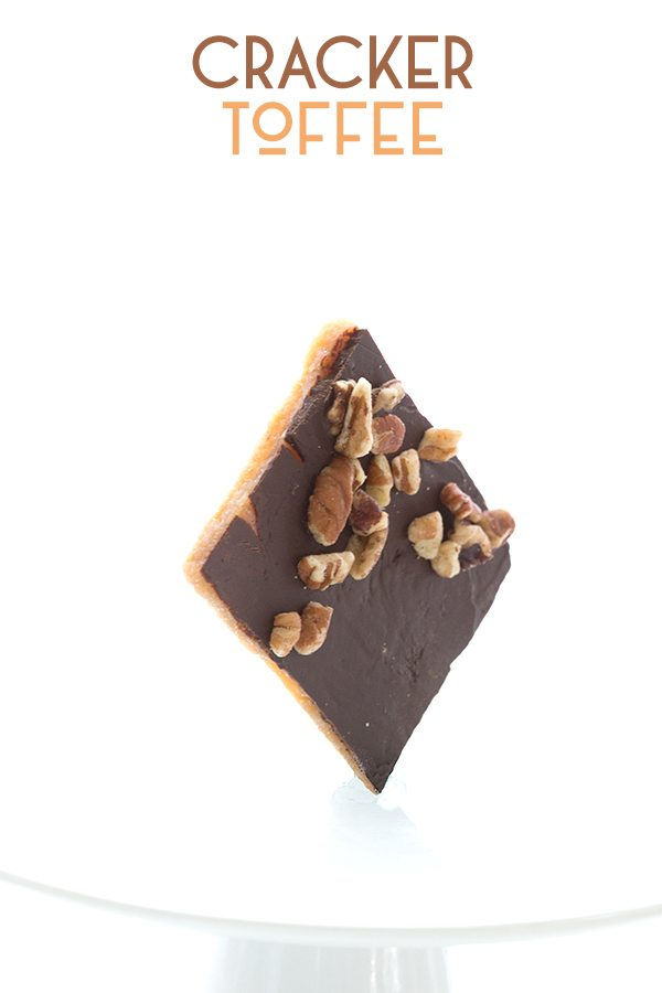 Low Carb Cracker Toffee Recipe