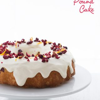 Low Carb Cranberry Bliss Pound Cake Recipe