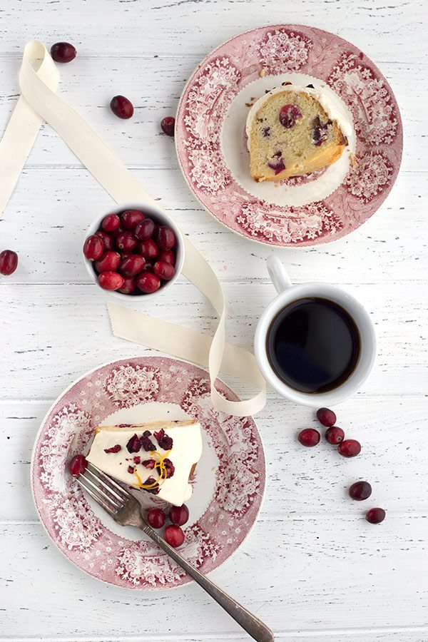 Grain-Free Sugar-Free Cranberry Pound Cake
