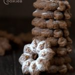 Low Carb Gingerbread Spritz Cookies
