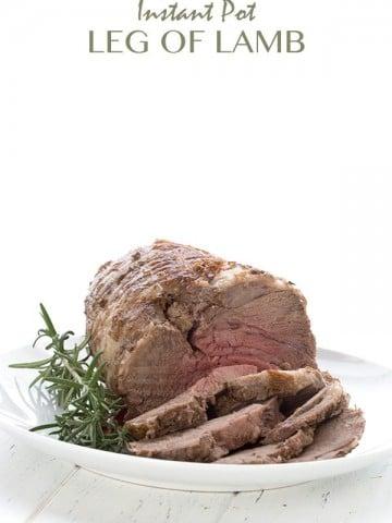Low Carb Instant Pot Leg of Lamb