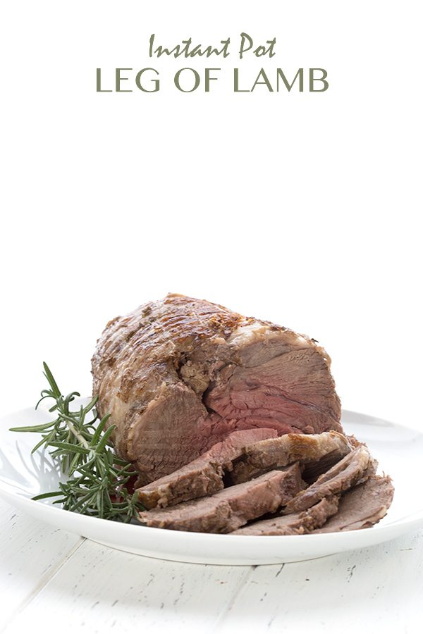 Low Carb Instant Pot Leg of Lamb