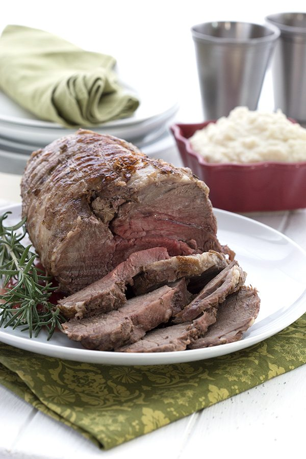Easy Keto Leg of Lamb in your Instant Pot