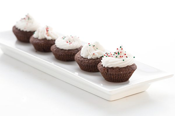Delicious low carb Peppermint Brownie Bites recipe