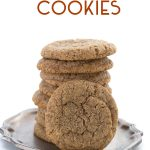 Low Carb Chewy Ginger Molasses Cookies