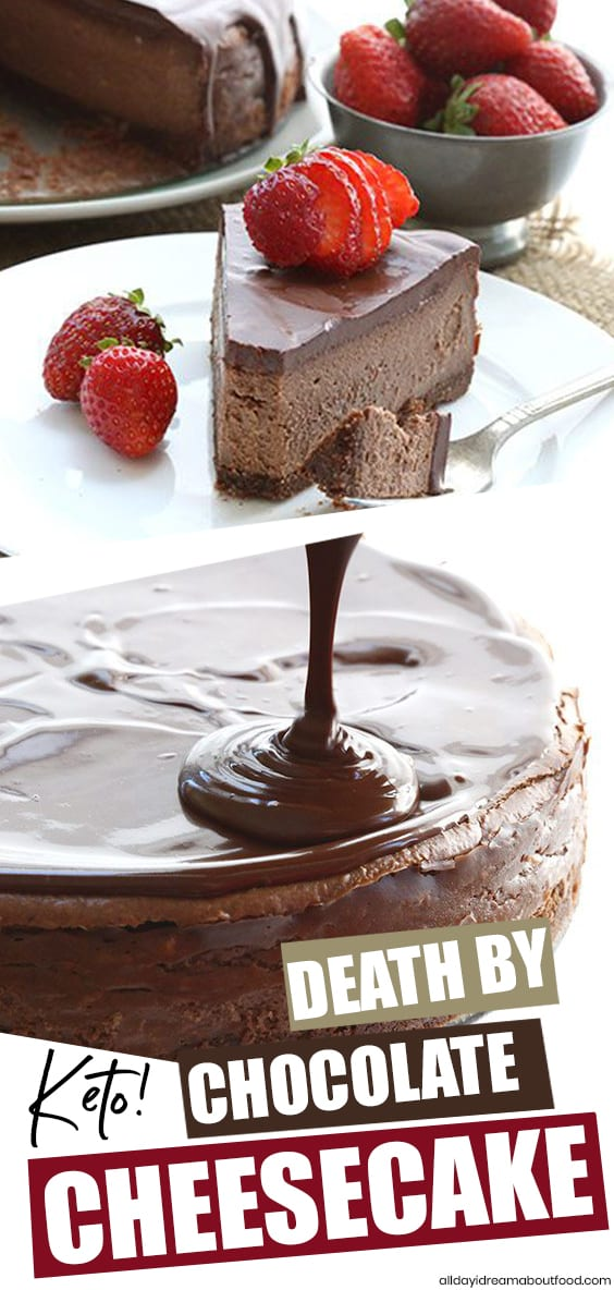 The best ever keto chocolate cheesecake recipe