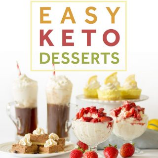 Easy Keto Desserts Cover