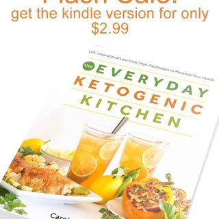 Flash Sale for The Everyday Ketogenic Kitchen (Kindle)