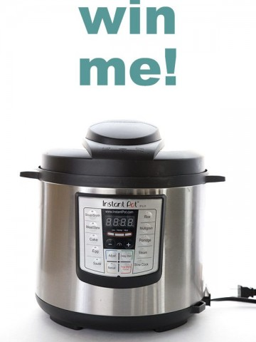 Instant Pot Giveaway for Easy Keto Dinners