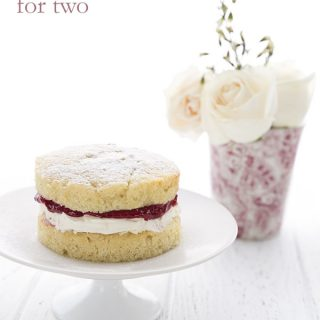 Low Carb Mini Victoria Sponge Cake Recipe