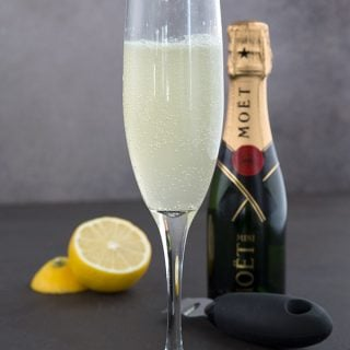 Sugar-Free French 75 Cocktail and a Keto Happy Hour Giveaway