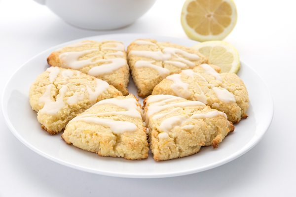 Low carb lemon ricotta scones make a perfect keto brunch recipe