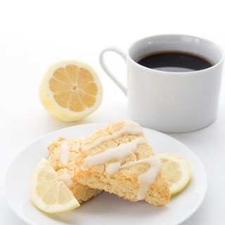 Low Carb Lemon Ricotta Scones