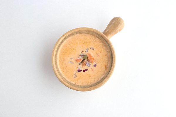 Easy low carb smoked salmon chowder recipe