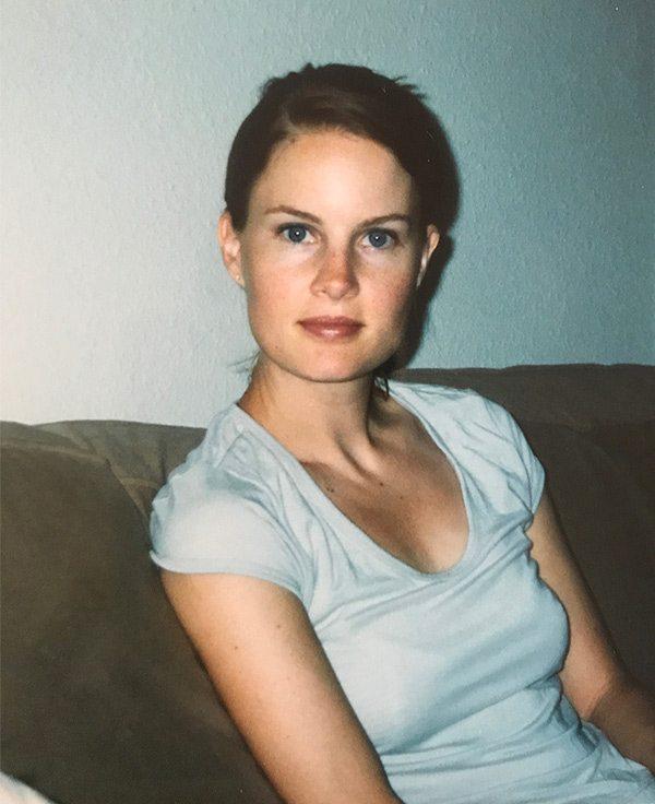 Carolyn Ketchum at 28 years old