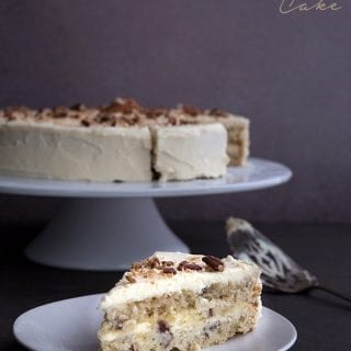 Low Carb Italian Cream Cake