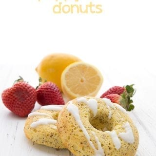 Lemon Poppyseed Donuts