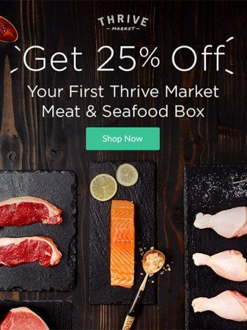 Sustainable Meat and Seafood Box