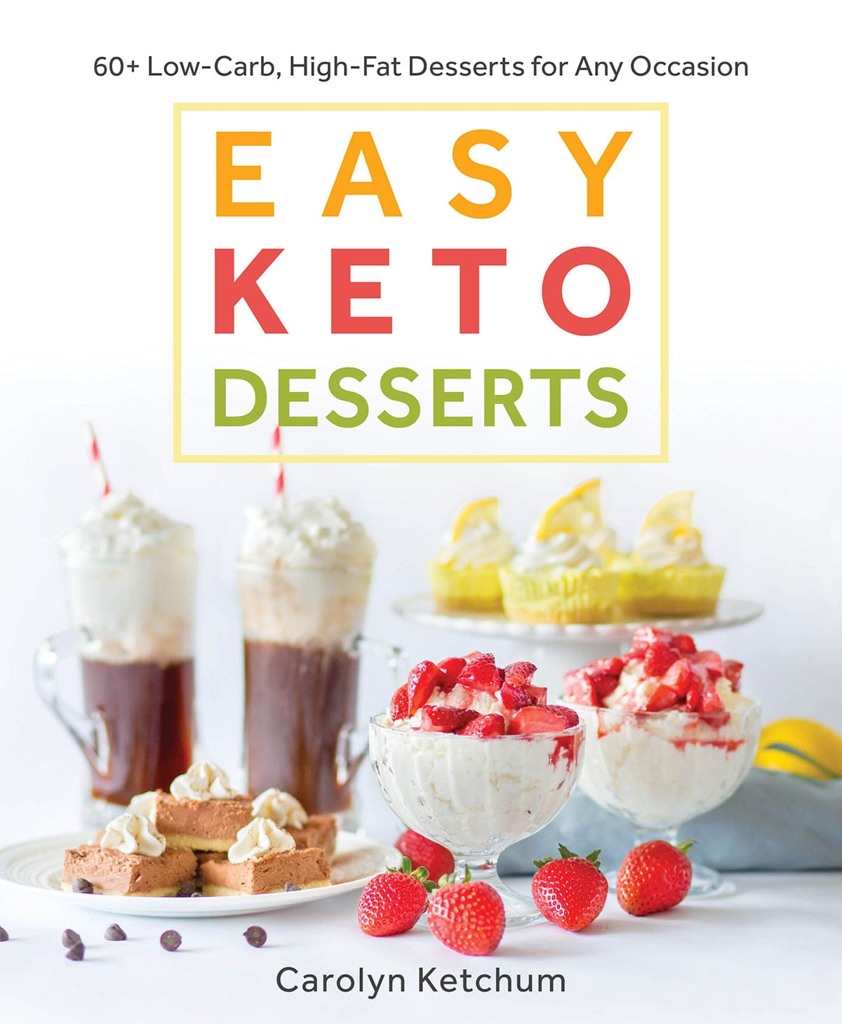 Easy Keto Desserts Cookbook Cover