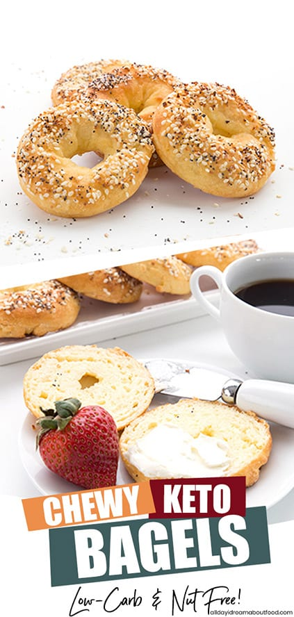 Keto Bagels Recipe with Coconut Flour | All Day I Dream