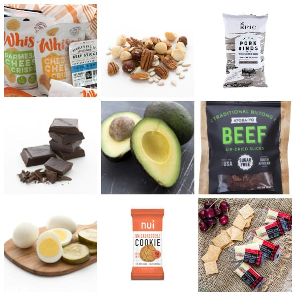 Store-bought keto snack ideas