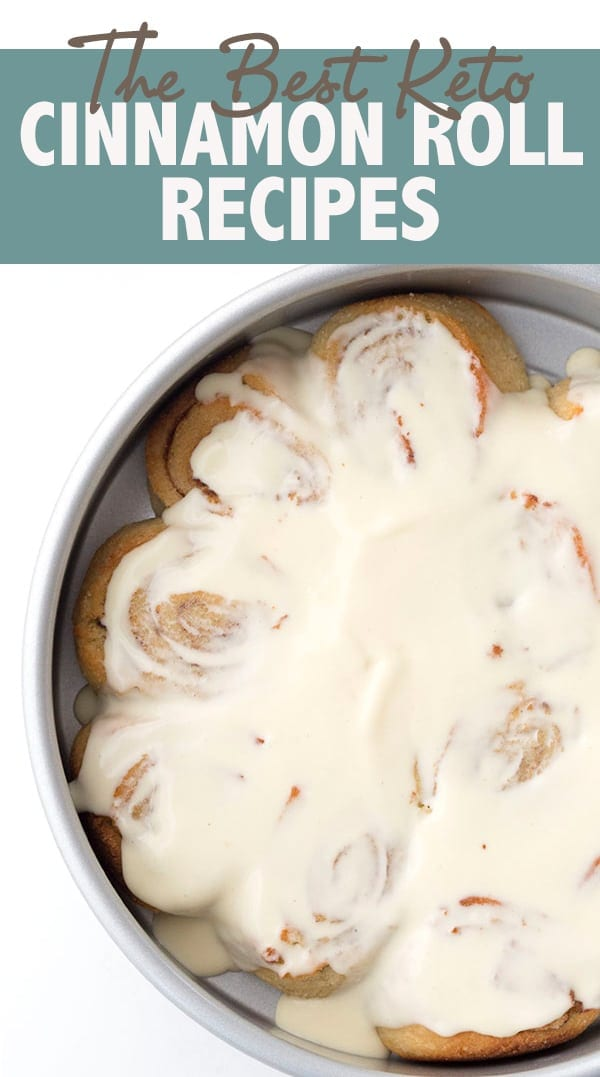 Oh yeah! The BEST Keto Cinnamon Roll Recipes. From muffins to cheesecake to actual cinnamon rolls, these 25 deliciously low carb recipes are sure to satisfy. #keto #lowcarb #cinnamonrolls #ketorecipes #sugarfree #sugarfreerecipes