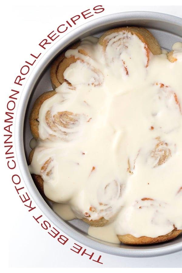 Best Keto Cinnamon Rolls Graphic