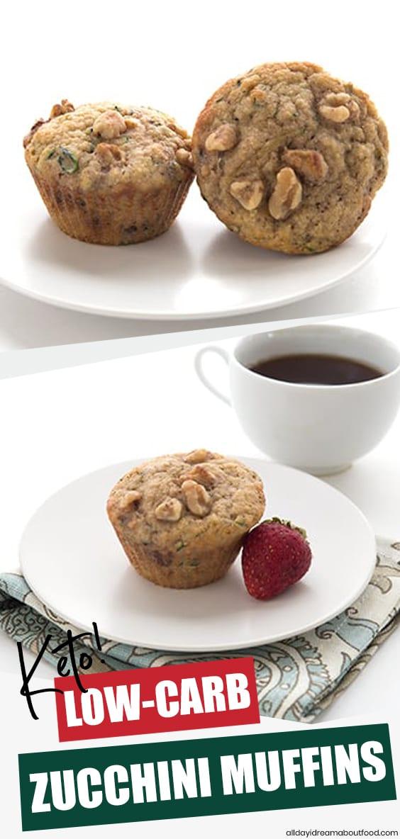 Keto Zucchini Muffins Recipe All Day I Dream About Food