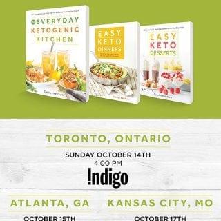 Easy Keto Book Tour