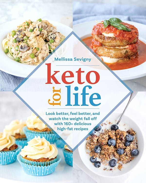 Keto for Life Cookbook Cover