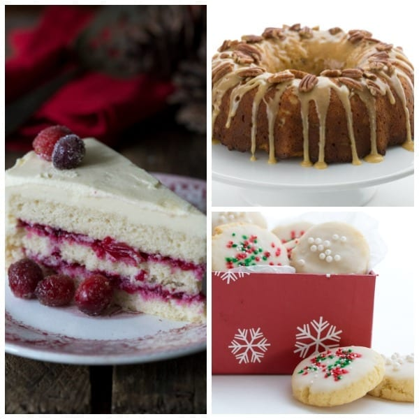 Keto Holiday Desserts Collage